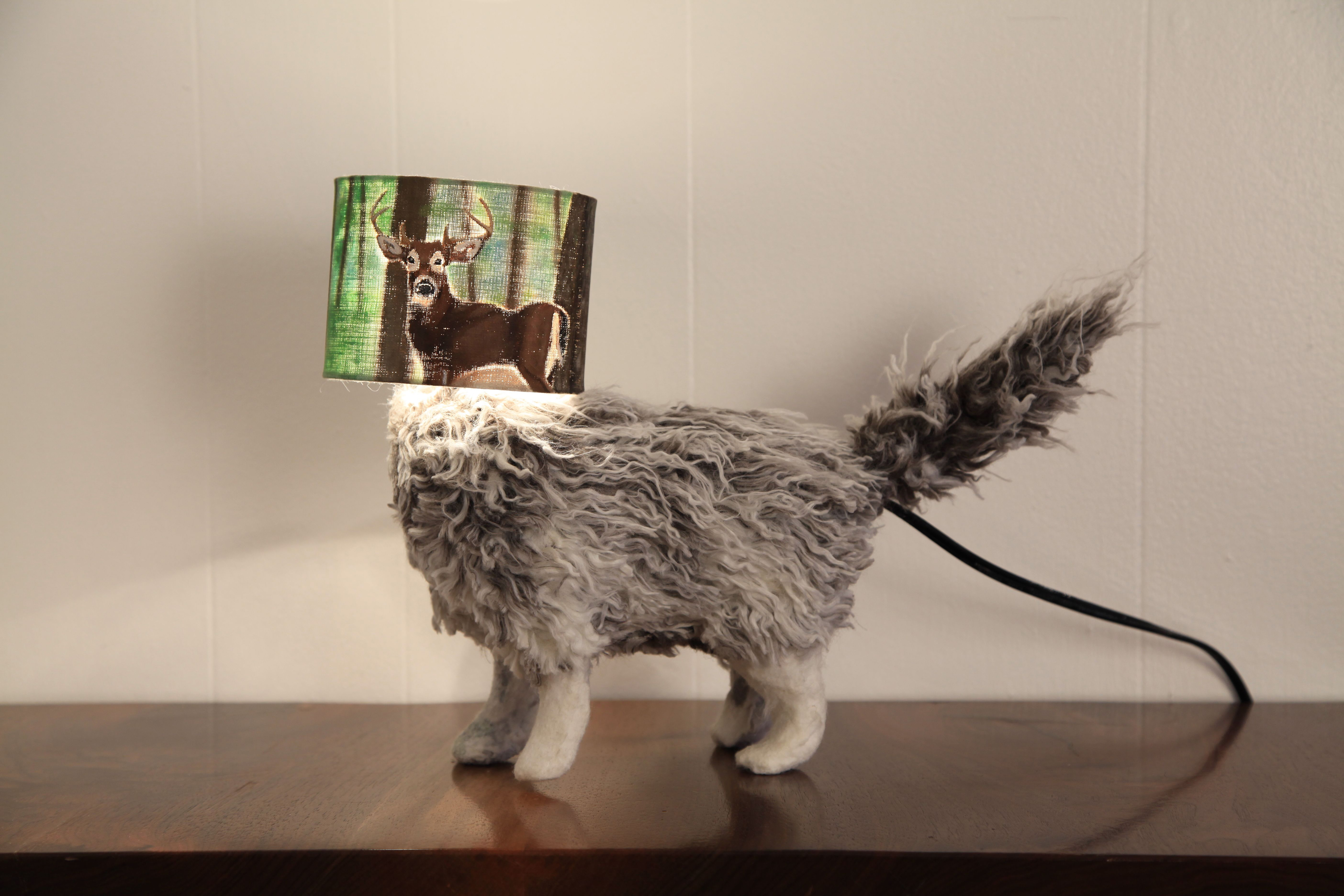 wolf fashion mountain by pin sloth table molehill lampshade jewellery medium lamp and